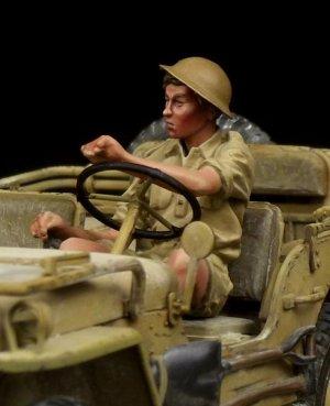 British Driver Western Desert WW II  (Vista 5)