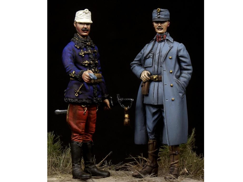 Austro-Hungarian Officers WW I  (Vista 1)