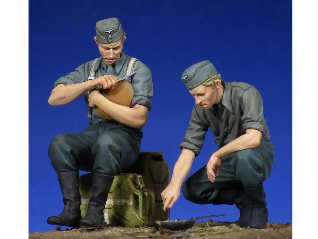 Soldados Alemenes descansando (Vista 1)