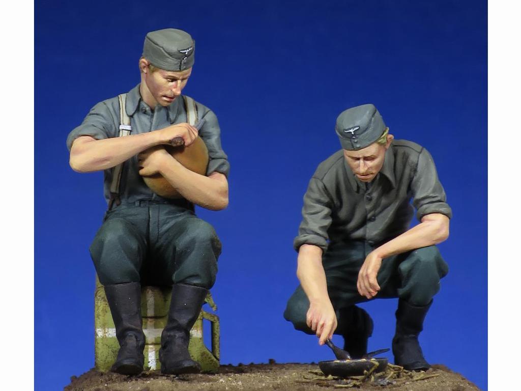 Soldados Alemenes descansando (Vista 2)