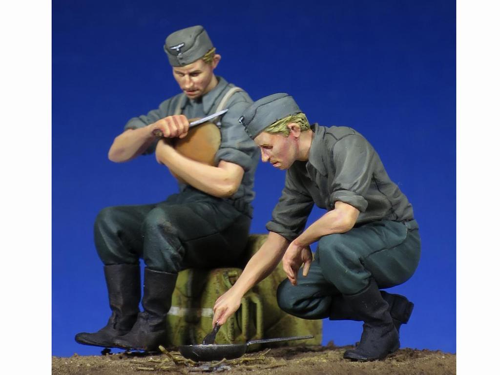 Soldados Alemenes descansando (Vista 3)