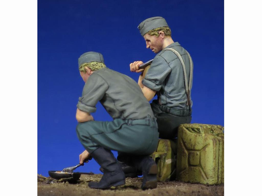 Soldados Alemenes descansando (Vista 4)