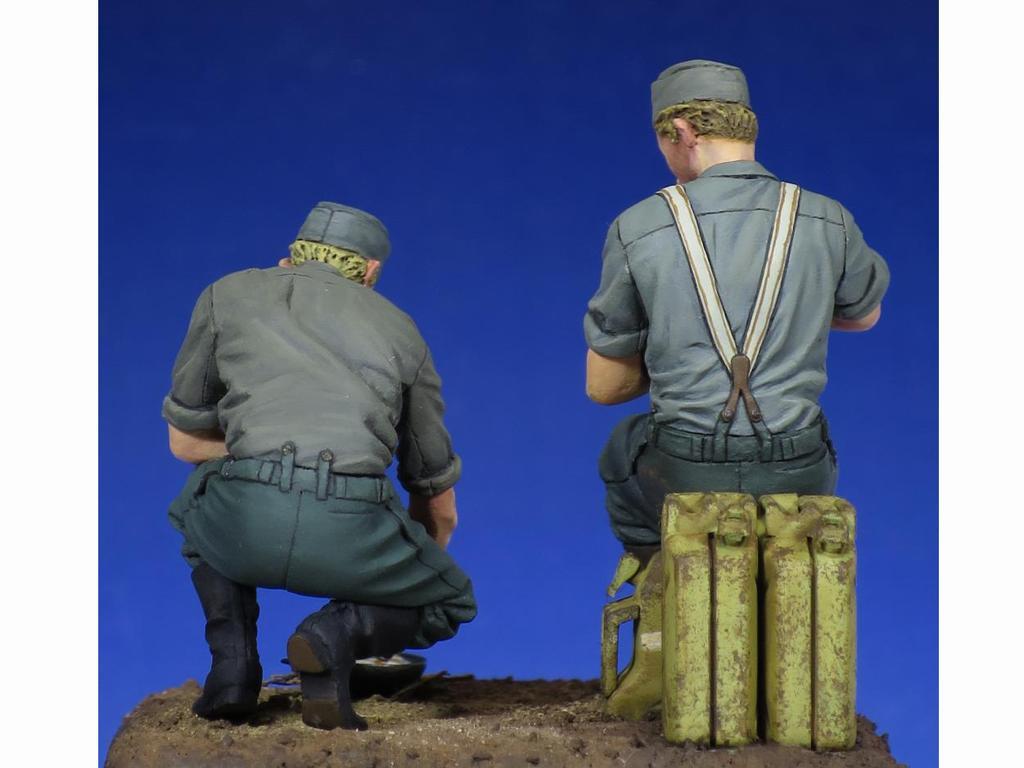 Soldados Alemenes descansando (Vista 5)