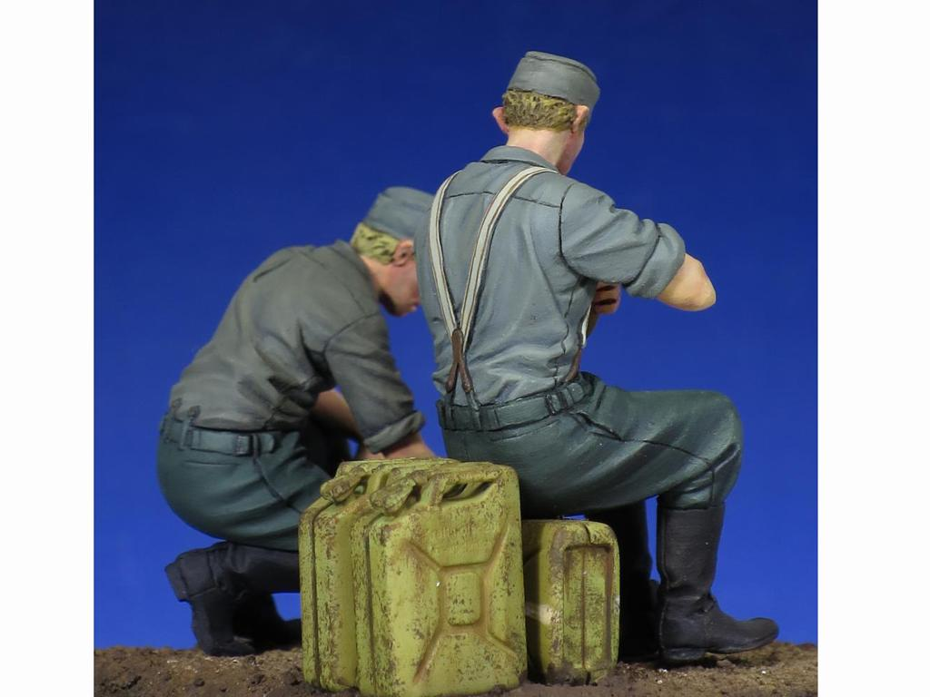 Soldados Alemenes descansando (Vista 6)