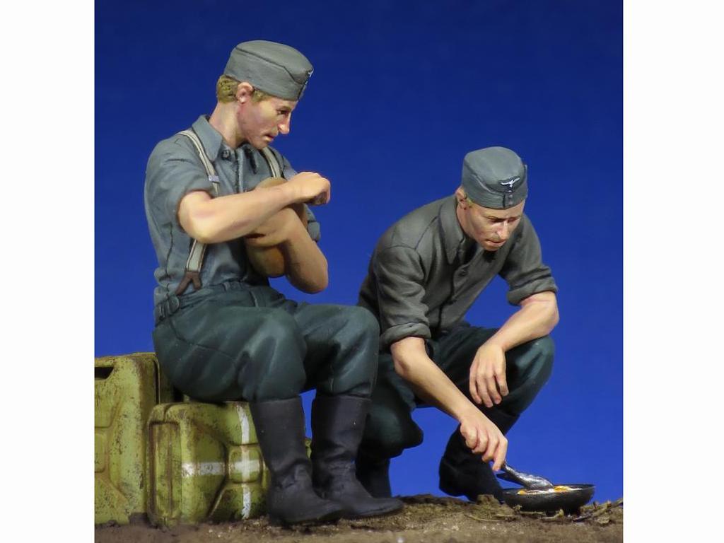 Soldados Alemenes descansando (Vista 7)