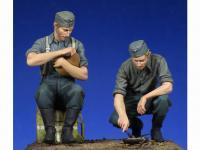 Soldados Alemenes descansando (Vista 9)