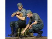 Soldados Alemenes descansando (Vista 10)