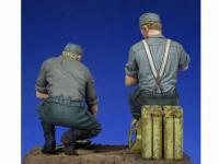 Soldados Alemenes descansando (Vista 12)