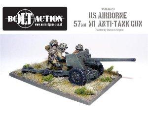 US Airborne 57mm TAG & Crew  (Vista 1)