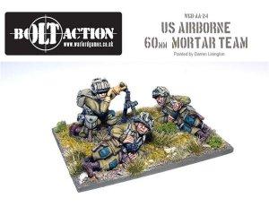 US Airborne 60mm Mortar & Crew  (Vista 1)
