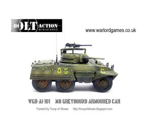 M8 Greyhound Armoured Car  (Vista 1)