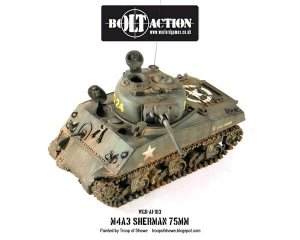 Sherman M4A3 (75mm)  (Vista 1)