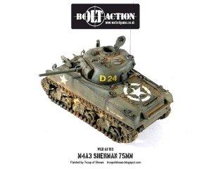 Sherman M4A3 (75mm)  (Vista 2)