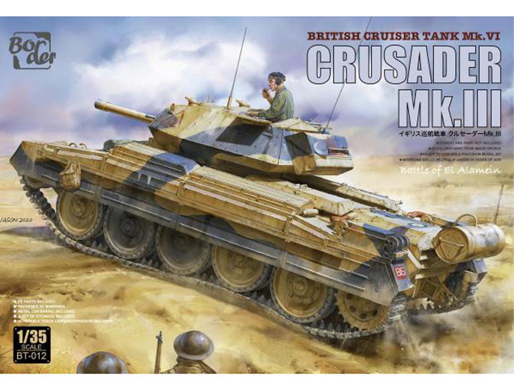 British Cruiser tank Crusader MkIII