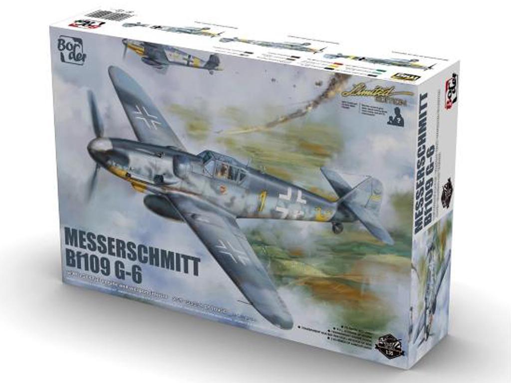 Messerschmit Bf 109-G6 (Vista 1)