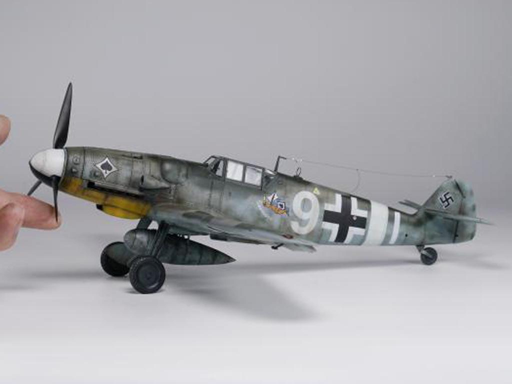 Messerschmit Bf 109-G6 (Vista 4)