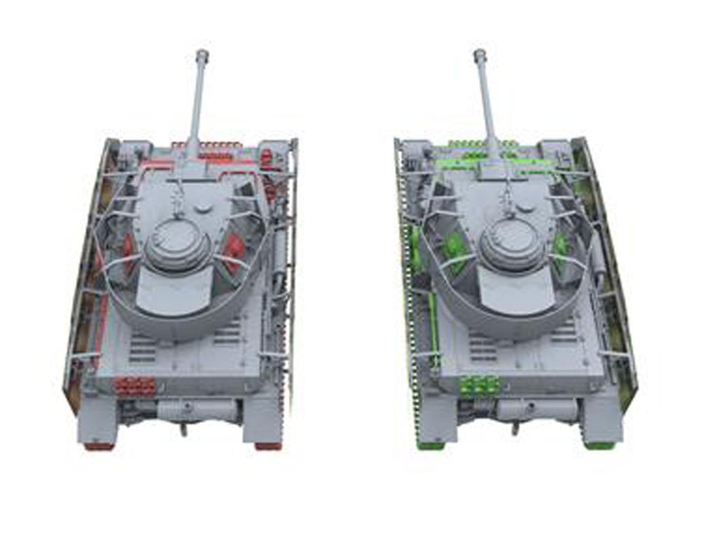 Panzer IV H Temprano / Medio con 4 Figuras (Vista 2)