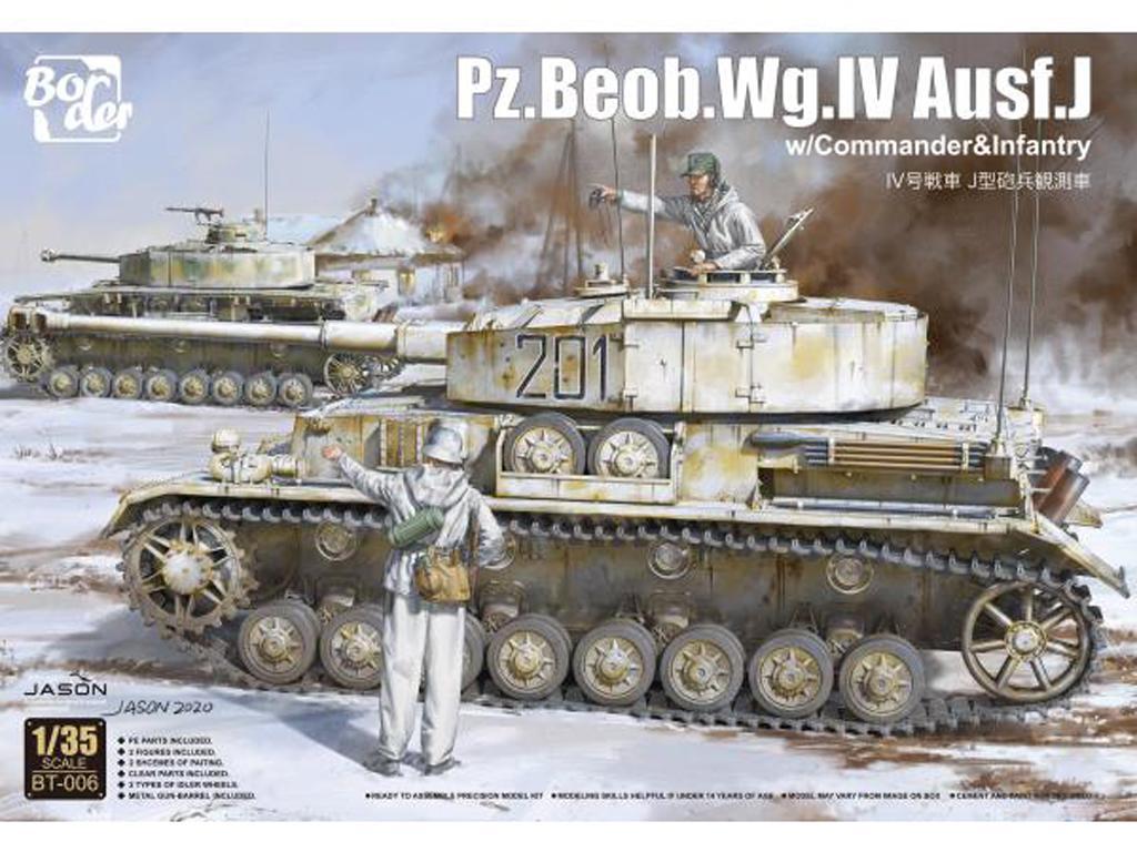 Panzer Beob.Wg.IV Ausf.J (Vista 1)