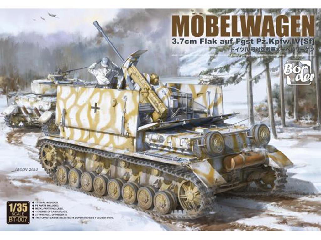 Mobelwagen 3,7cm Flak Auf Fgst Pz.Kpfw IV (Vista 1)