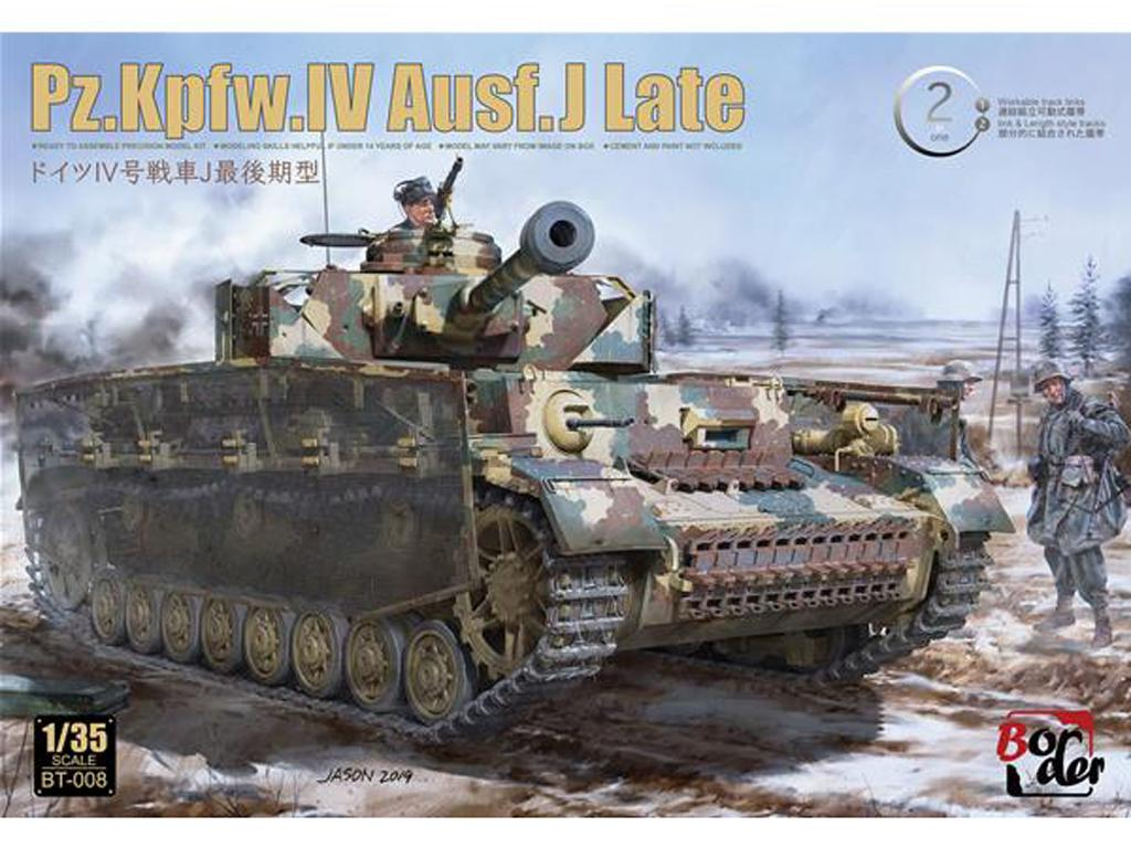 Panzer IV Ausf.J late (Vista 1)