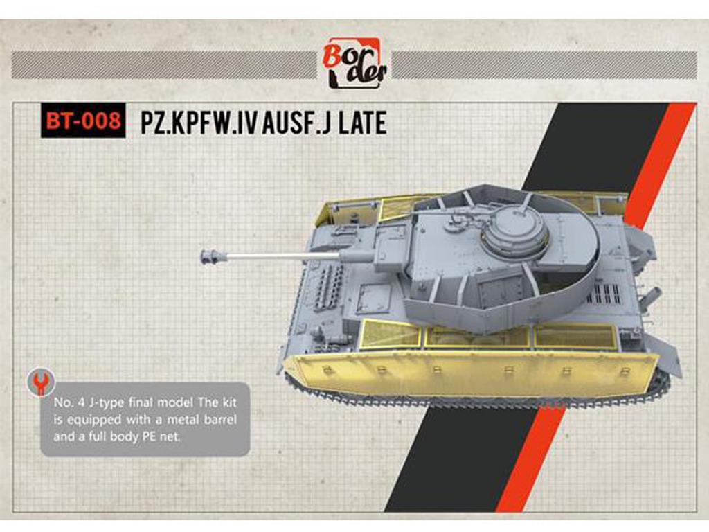 Panzer IV Ausf.J late (Vista 3)