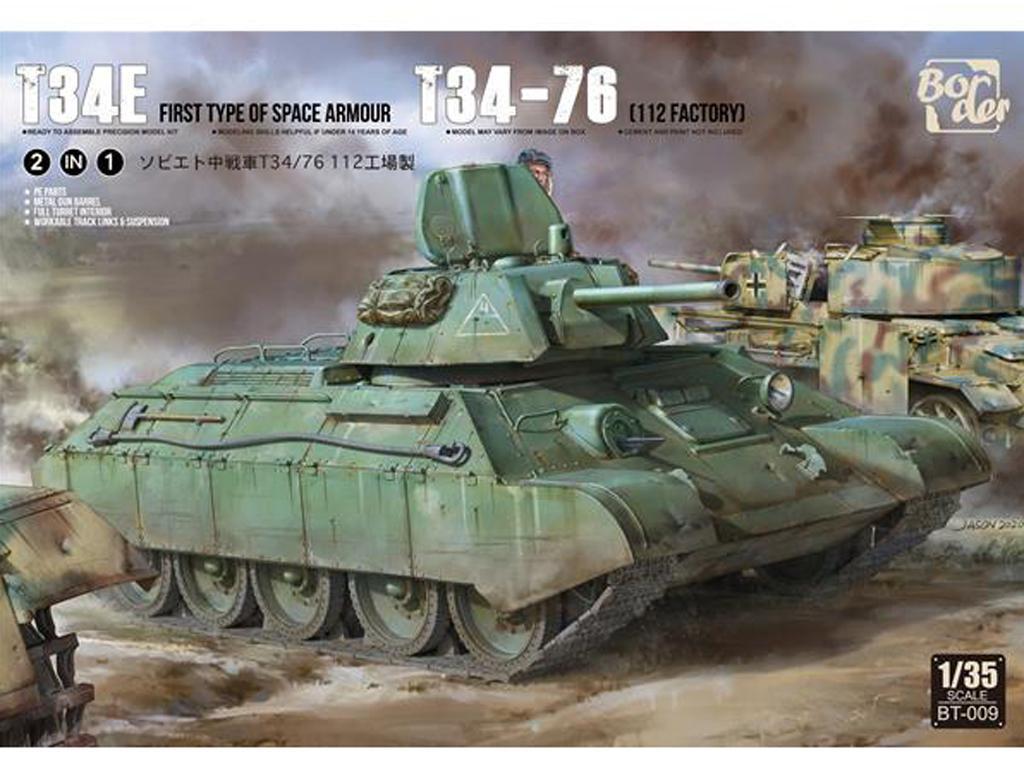 T-34 revisado (tipo 1) y T-34-76 (Vista 1)