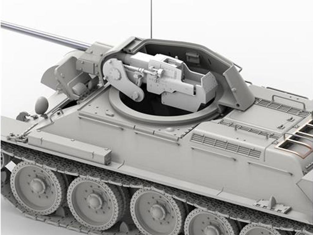 T-34 revisado (tipo 1) y T-34-76 (Vista 2)