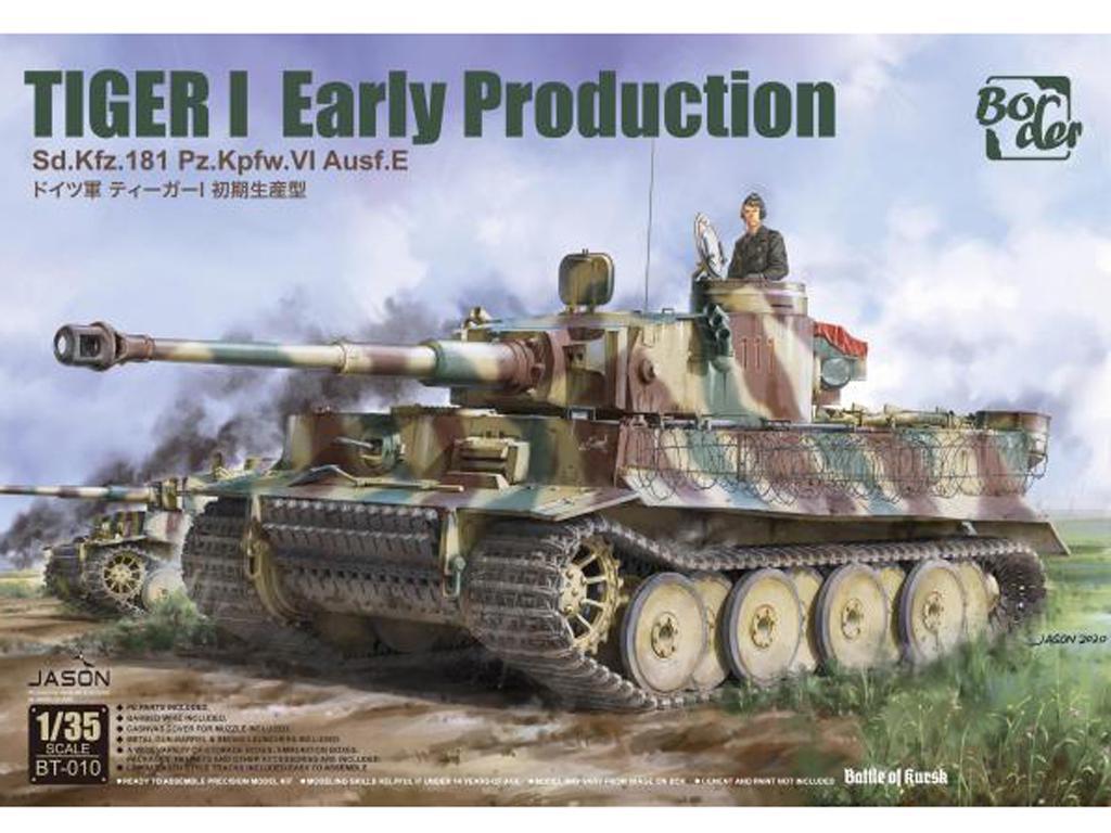 TIGER I Early Production, Battle of Kursk (Vista 1)