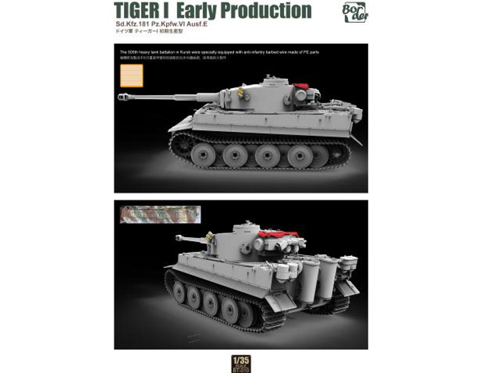 TIGER I Early Production, Battle of Kursk (Vista 3)