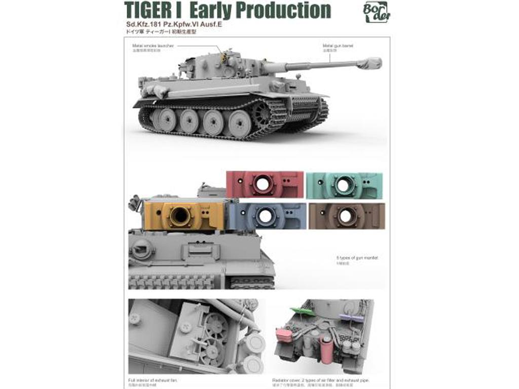 TIGER I Early Production, Battle of Kursk (Vista 4)