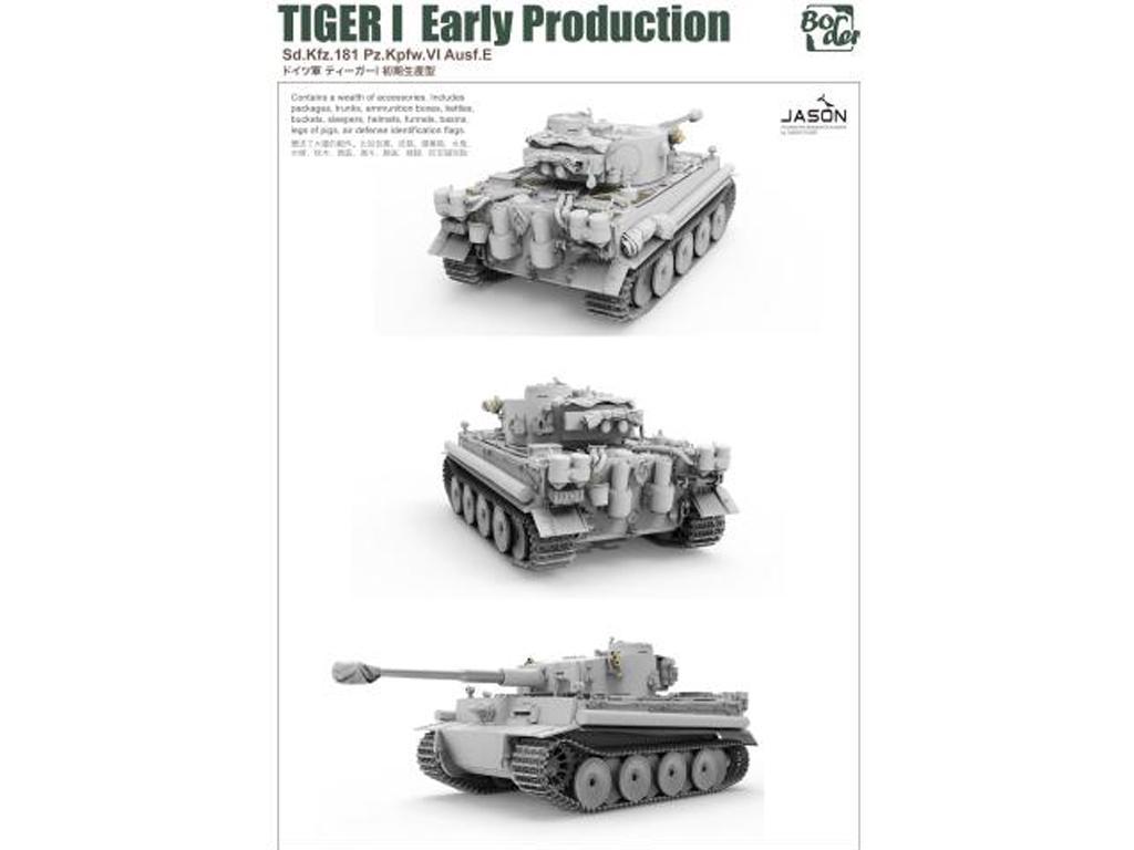 TIGER I Early Production, Battle of Kursk (Vista 6)