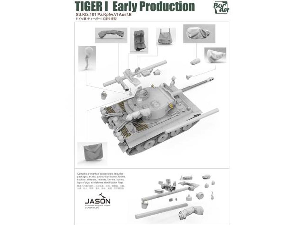 TIGER I Early Production, Battle of Kursk (Vista 7)