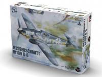 Messerschmit Bf 109-G6 (Vista 9)