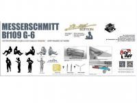 Messerschmit Bf 109-G6 (Vista 11)