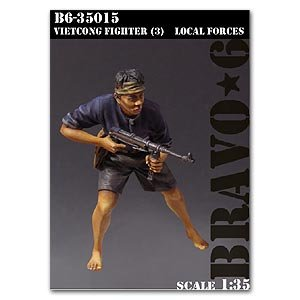 Vietcong Fighter (3) Local Forces  (Vista 1)