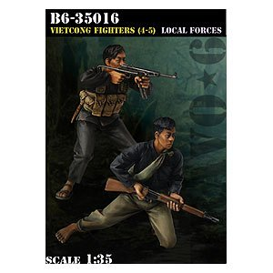 Vietcong Fighters (4-5) Local Forces  (Vista 1)