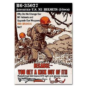 Assort U.S. M1 Helmets  (Vista 1)