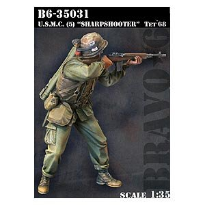 USMC (5) Sharpshooter Tet`68  (Vista 1)