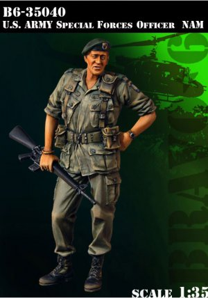 U.S. Army Special Force Officer Nam.  (Vista 1)