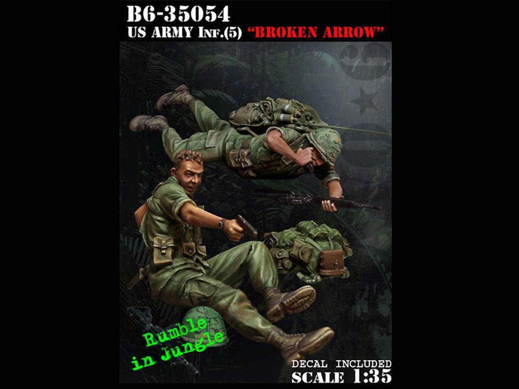 US Army Inf.(5) Broken Arrow  (Vista 1)