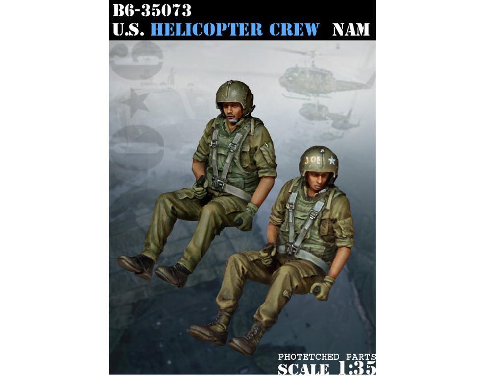 U.S. Helicopter Crew Vietnam  (Vista 1)