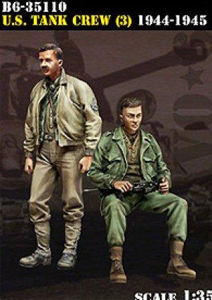 U.S. Tank Crew (3) 1944-45  (Vista 1)