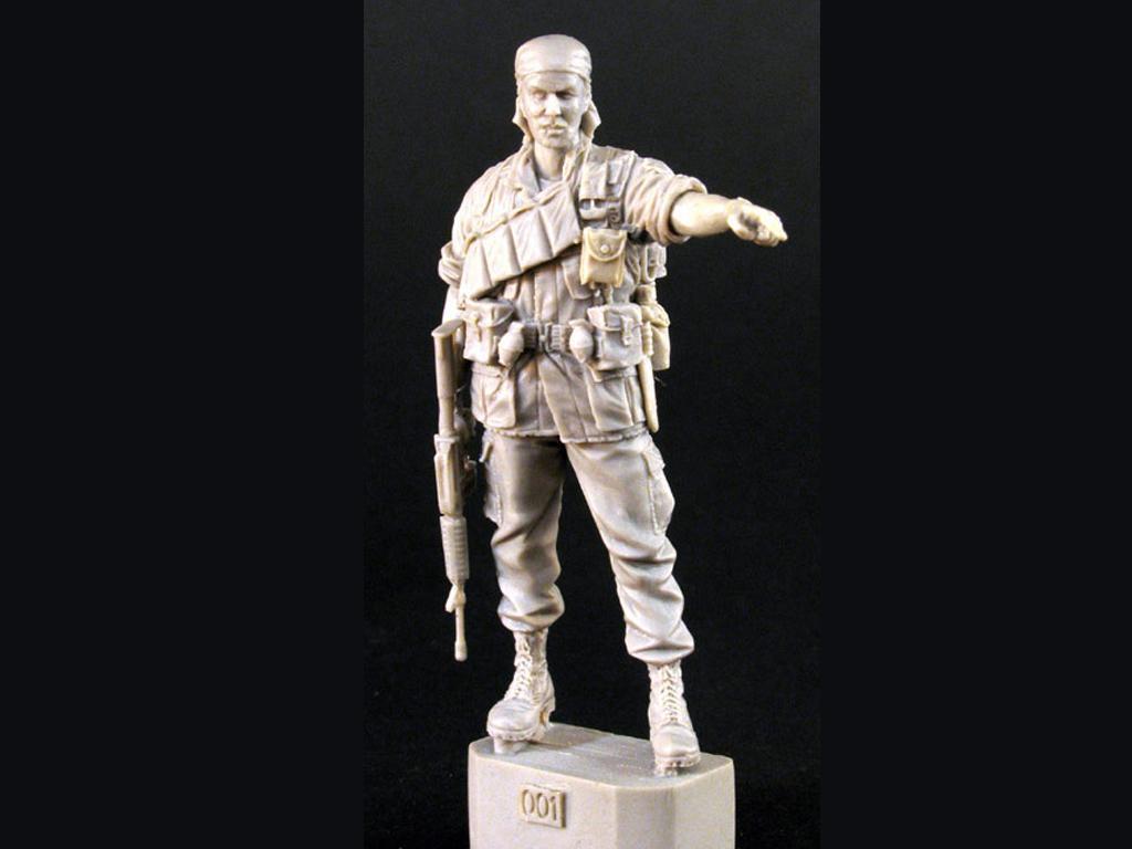 Sargento de Infantería de los Estados Unidos Vietnam 1968 (Vista 3)