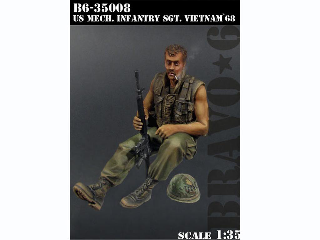 U.S. Mech. Infantería SGT. Vietnam '68  (Vista 1)