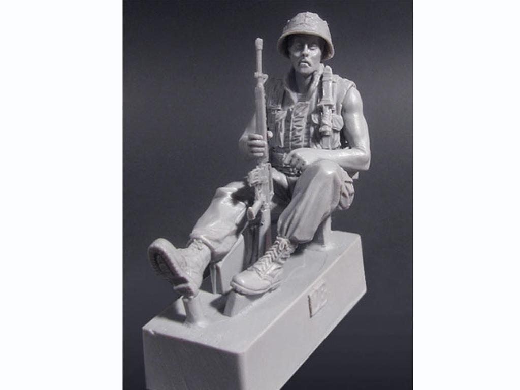 U.S. Mech. Infantería SGT. Vietnam '68  (Vista 3)
