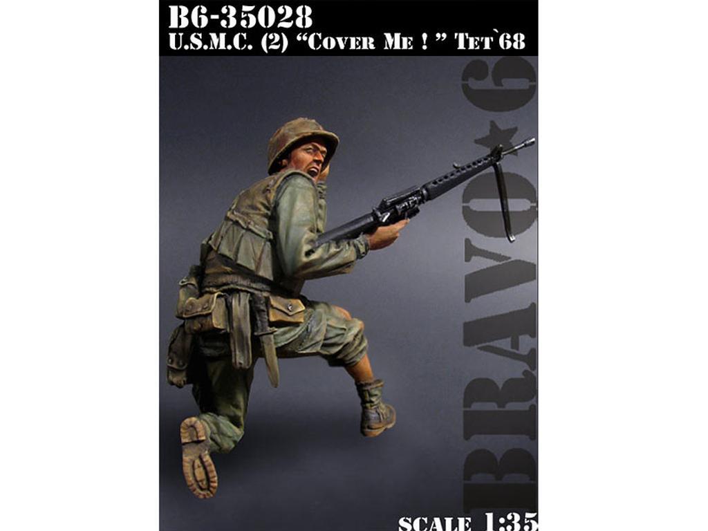 U.S.M.C. Cover Me  TET  1968  (Vista 1)