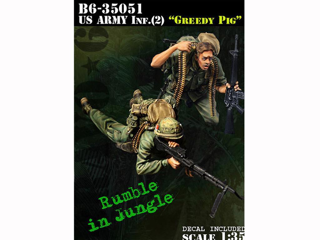 US Army Infantry (2) Greedy Pig (Vista 1)