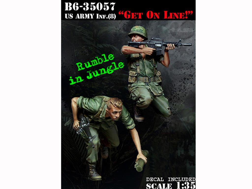 US Infantry 8 Get On Line! (Vista 1)