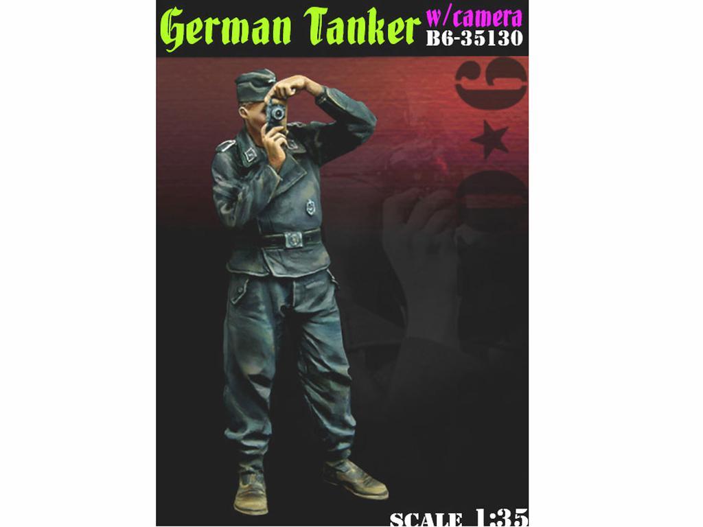 Tanquista Alemán con cámara (Vista 1)