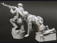 U.S.M.C. (3) Machine Gun Team TET '68 (Vista 6)